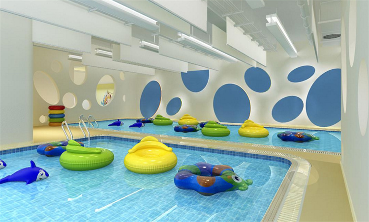 泡泡糖婴儿游泳馆